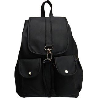 VARSHA WOMEN BACKPACK BAG BLACK 12