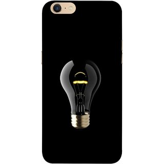 FUSON Designer Back Case Cover For Oppo A39 (Hanging Light Bulb In Dark Room Ceiling Darkness )