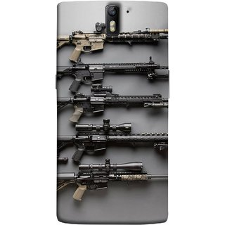 FUSON Designer Back Case Cover for OnePlus One :: OnePlus 1 :: One Plus One (Rounds Ammunition Bullets Guns Aurora Murders)
