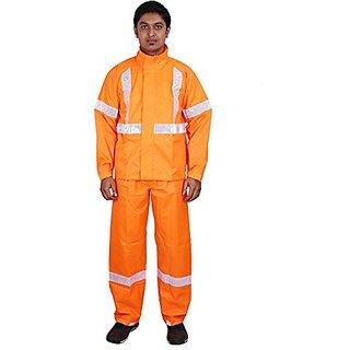 Versalis Mens RA Rain Suit (Orange - L)