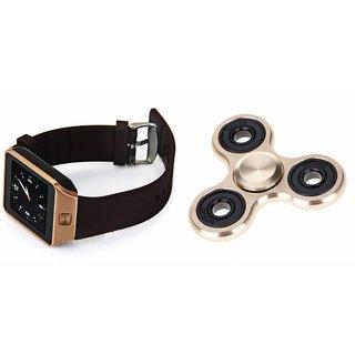 Mirza DZ09 Smart Watch and Fidget Spinner for SAMSUNG GALAXY S DUOS 3(DZ09 Smart Watch With 4G Sim Card, Memory Card  Fidget Spinner)