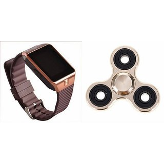 Mirza DZ09 Smart Watch and Fidget Spinner for Oppo F3 Plus(DZ09 Smart Watch With 4G Sim Card, Memory Card  Fidget Spinner)