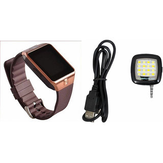 Mirza DZ09 Smart Watch and Mobile Flash for LENOVO vibe z2(DZ09 Smart Watch  With 4G Sim Card, Memory Card| Mobile Flash, Selfie Flash)