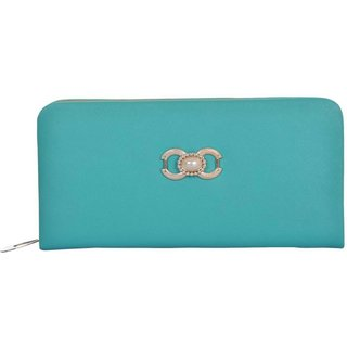 VARSHA WOMEN CLUTCH BAG AQUA 06