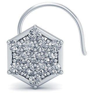 Avnni By Nakshatra14K Yellow Gold Diamond Nosepin For Women