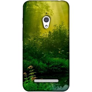 FUSON Designer Back Case Cover For Asus Zenfone Go ZC500TG (5 Inches) (Tropical And Subtropical Coniferous Forests Wallpaper)