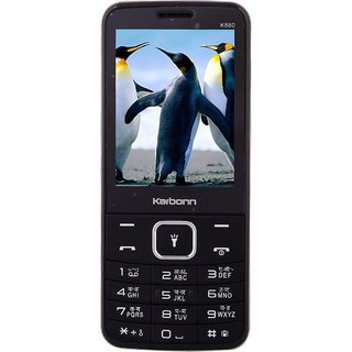 KB K880  Feature Phone (Black Champ)