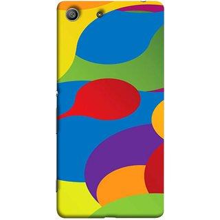 FUSON Designer Back Case Cover For Sony Xperia Z3 :: Sony Xperia Z3 Dual D6603 :: Sony Xperia Z3 D6633 (Gliding Mobile Wallpaper Floral Patterns Shining Dark Patterns)