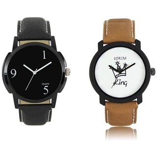 Lorem Black With King Latest Designing Stylist Professional Analog Watch