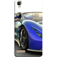 FUSON Designer Back Case Cover for Oppo F1 :: A35 (Italia Wild Beautiful Design Tyres Front Lights )