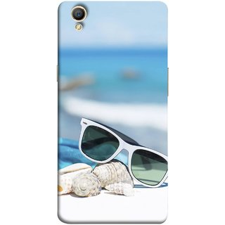 Buy Fuson Designer Back Case Cover For Oppo A37 Summer Vacation