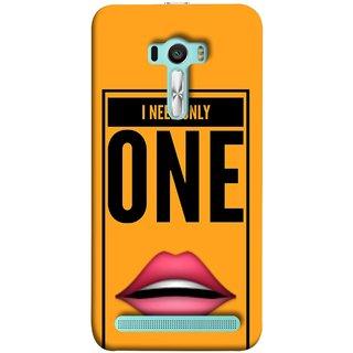 FUSON Designer Back Case Cover For Asus Zenfone Selfie ZD551KL (Hot Girl Couples Red Lips Pinky Flying Kisses Girl Lovers)