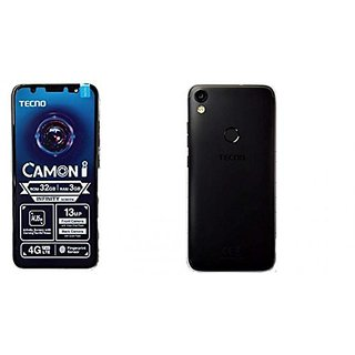 Tecno Camon IN5 (3 GB, 32 GB, Midnight Black)