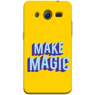 FUSON Designer Back Case Cover for Samsung Galaxy Core 2 G355H :: Samsung Galaxy Core Ii :: Samsung Galaxy Core 2 Dual (Wand Magically Make Differnece To Others Life )
