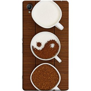 FUSON Designer Back Case Cover For Sony Xperia Z2 (5.2 Inches) (Breakfast Cold Hot Best Wallpapers Jungle Cold Hot Brew )