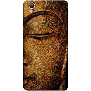 FUSON Designer Back Case Cover for Oppo A37 (Gautam Buddha Statue Scenary Lord Siddharth)