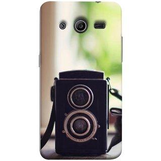 FUSON Designer Back Case Cover for Samsung Galaxy Core 2 G355H :: Samsung Galaxy Core Ii :: Samsung Galaxy Core 2 Dual (Antique & Vintage Cameras Make Great Deco)