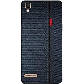 Buy Fuson Designer Back Case Cover For Oppo F1 A35 Denim Dark