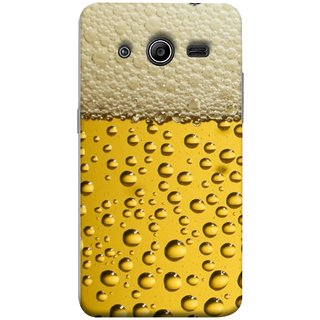 FUSON Designer Back Case Cover for Samsung Galaxy Core 2 G355H :: Samsung Galaxy Core Ii :: Samsung Galaxy Core 2 Dual (Life Hoto Beer Glass Bubble Daaru Drink Wine Fuzzy)