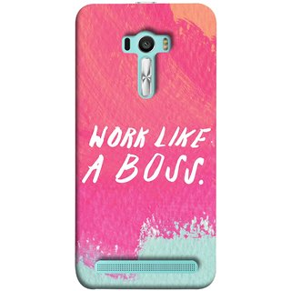 FUSON Designer Back Case Cover For Asus Zenfone Selfie ZD551KL (Always Keep Control On Everything On Work Life )