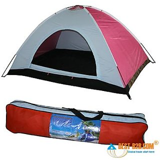 Anti ultraviolet Four 4 Person Outdoor Camping Tent Portable Tent Tant Portable