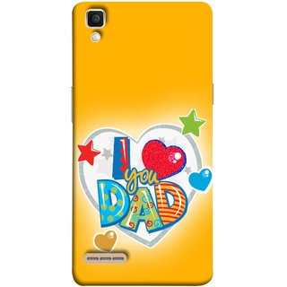 Buy Fuson Designer Back Case Cover For Oppo F1 A35 Daddy Father