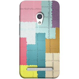 FUSON Designer Back Case Cover For Asus Zenfone 6 A600CG (Ceramic Tiles Hall Bathroom Home Decor Pattern)
