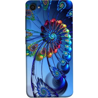 FUSON Designer Back Case Cover For Lenovo Zuk Z2 Plus (Best Animation Artwork Pattern Rangoli Best Painting )