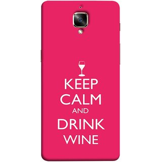 FUSON Designer Back Case Cover For Oneplus 3T (Vodka Alcohol Wiskey Musical Enjoy Party Good To Others)
