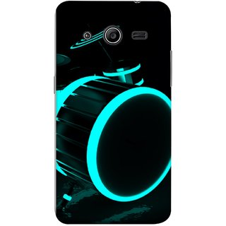 FUSON Designer Back Case Cover for Samsung Galaxy Core 2 G355H :: Samsung Galaxy Core Ii :: Samsung Galaxy Core 2 Dual (Lighted Drums Led Light Up Drum Set Drum Lights )