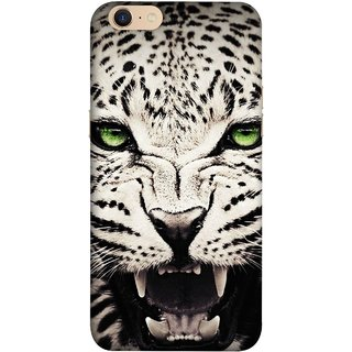 FUSON Designer Back Case Cover For Oppo A39 (Jungle King Stearing Angry Roaring Loud Aslan Panther)
