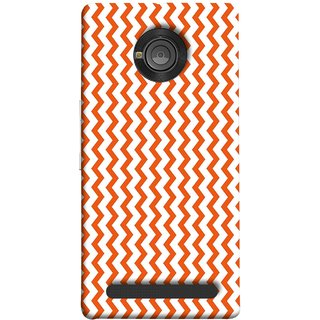 FUSON Designer Back Case Cover For YU Yuphoria :: YU Yuphoria YU5010 (Red Glittering Foil Seamless Pattern Background)