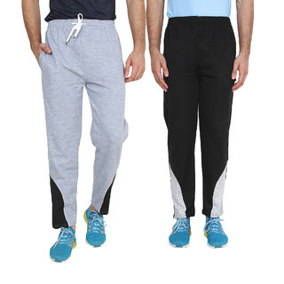 Swaggy Solid Men's Track Pants (pack of 2)