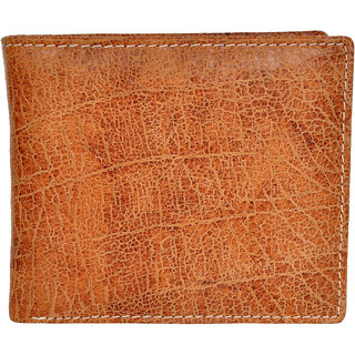 Chandair Pure Leather Crackle Brown Mens Wallet (WL-NW-001)