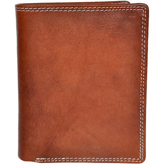 Chandair Pure Leather Pecan Brown Mens Wallet (WL-NW-025)