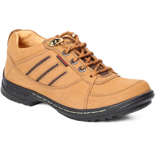 Red Chief Rust Men Outdoor Casual Leather Shoes (RC6019 022)