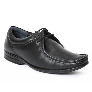 Red Chief Black Men Formal Leather Shoes (RC750A 001)