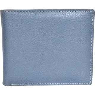 Chandair Pure Leather Light Grey Mens Wallet (WL-NW-015)