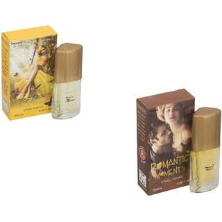 Set of 2 Afreen 20ml-Romantic moment 20 ml Perfume