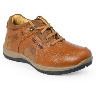 Red Chief Mens Tan Smart Casuals