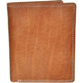Chandair Pure Leather Caramel Brown Mens Wallet (WL-NW-004)