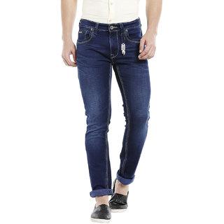 Integriti Men's Blue Slim Fit Jeans