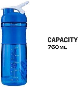 Strauss Blender Shaker Bottle 760ml (Blue)
