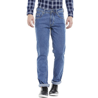 Integriti Men's Blue Slim Fit Jeans