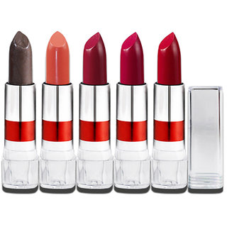 Set of 5 LaPerla Ring Lipstick Multicolor LL104