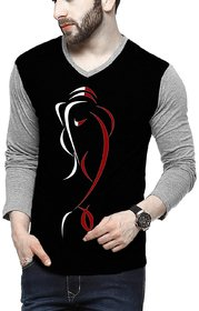 Stylogue Ganesh Grey Milanch Full Sleeves TShirt