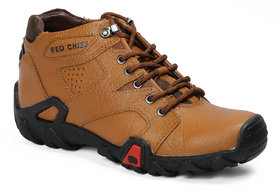 Red Chief Tan Men Casual Leather Shoes (RC20051 107)