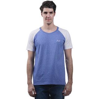 Griffel Men'S Sky Blue Round Neck T-Shirt