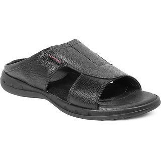 19b03746b66f Buy Red Chief Black Men Casual Leather Slipper (RC3463 001) Online ...