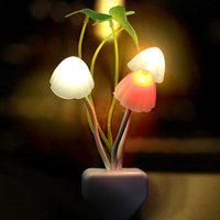 Mushroom Led Plug Night Lamp- Valentine gift